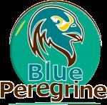 blue peregrine icon